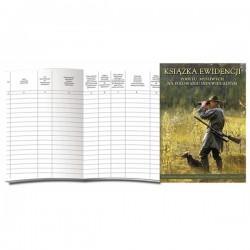 Książka ewidencji pobytu myśliwych na polowaniu indywidualnym A-5