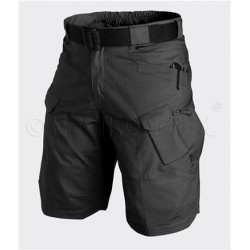 SPODNIE URBAN TACTICAL SHORTS POLYCOTTON RIPSTOP CZARNE