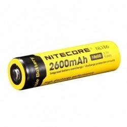 AKUMULATOR LI-ION NITECORE NL186 18650 (2XCR123) 2600 MAH