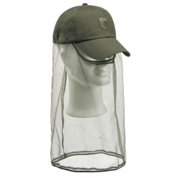 CZAPKA PINEWOOD 9578 MOSQUITO FACE OLIVE GREEN