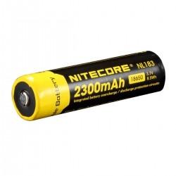 //AKUMULATOR LI-ION NITECORE NL183 18650 (2XCR123) 2300 MAH
